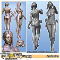 White Tiger Construction Sheet by Anuxinamoon