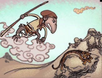 Monkey king 01 by moritat