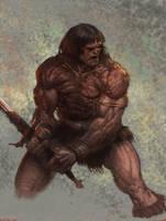 Conan the destroyer by moritat