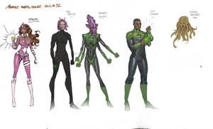 Green Lantern Corps 001 Copy by moritat