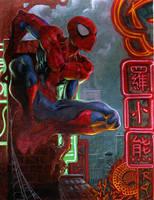 spider man by moritat