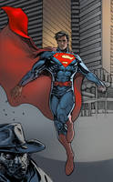 superman and jonah hex by moritat
