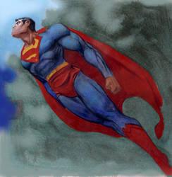 superman by moritat