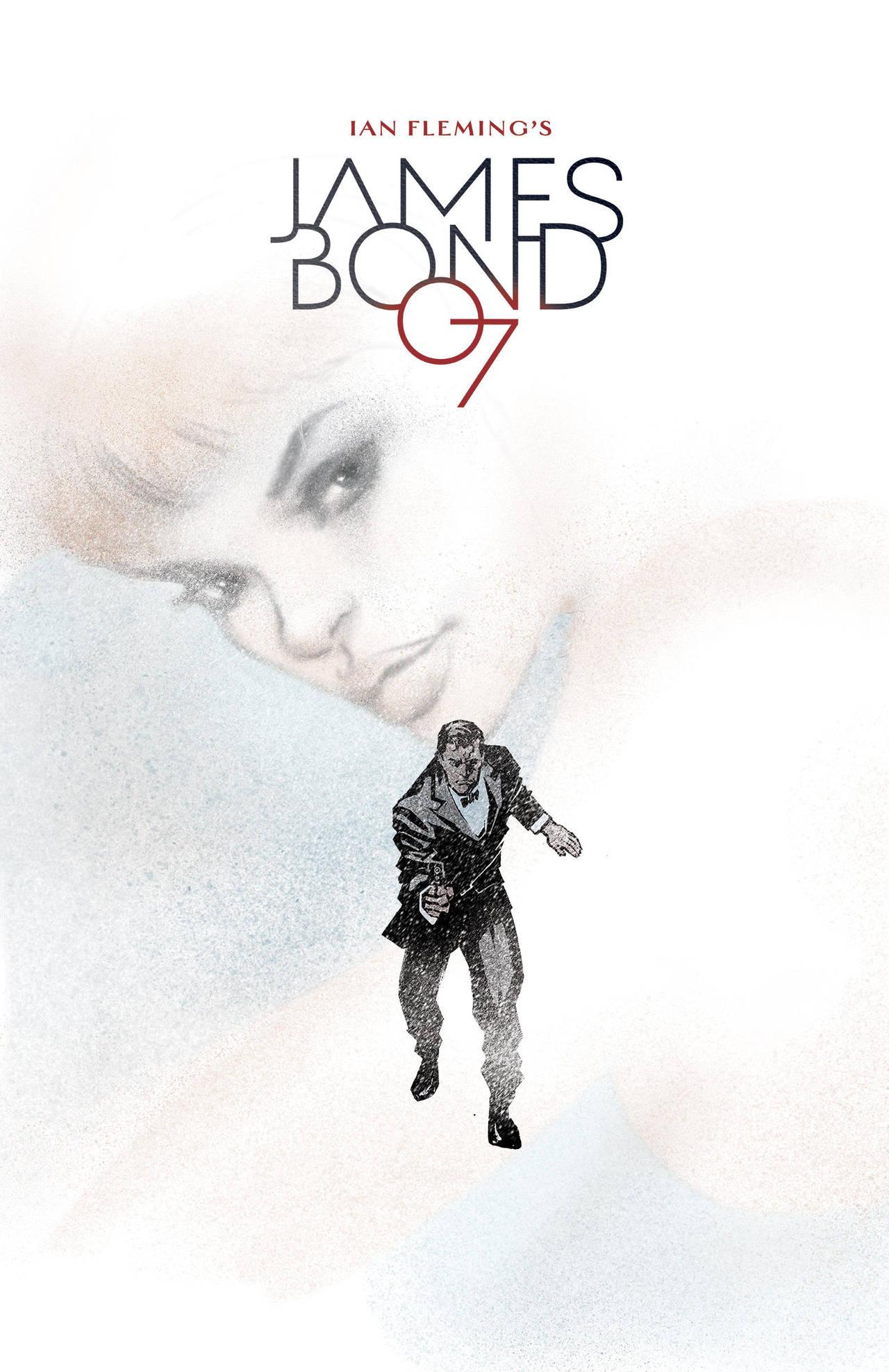 James Bond Cover by moritat