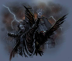 the crow 002 by moritat
