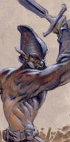 goblin warrior by moritat