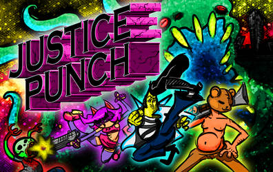 Justice Punch: Animated Storyboard by Dirgewood
