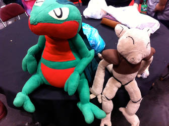 Pokemon Plushies @ New York Comic Con 2014 by AdioXGen