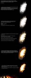 Firey Explosion tutorial by alyn