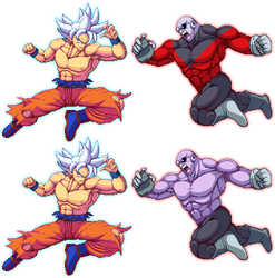 Goku Vs Jiren! by K3RCY