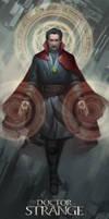 Doctor Strange by erickefata
