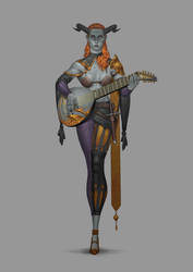 Skelg - Female by erickefata