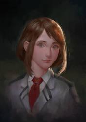 Uraraka - Boku no Hero Academia by erickefata