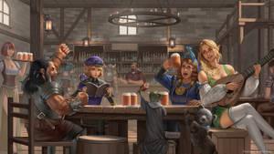 Tavern by erickefata