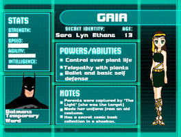 Young Justice FC Gaia by JesusChick09