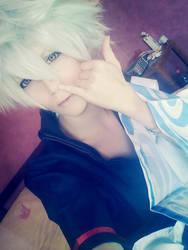 Gintoki cosplay by xReitox