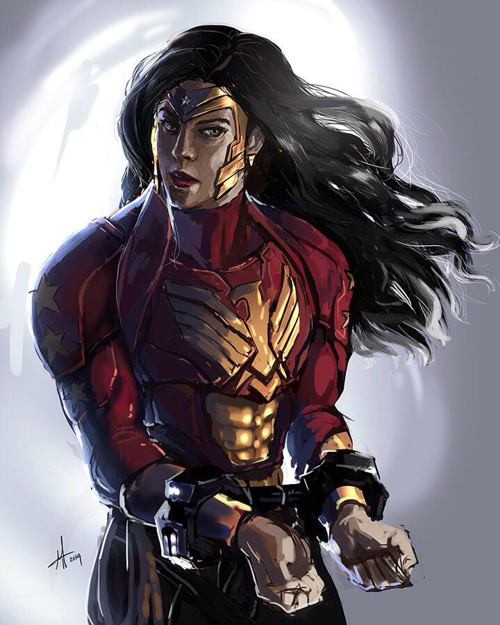 Wonder Woman by onibox