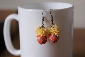 earrings: girly retro 2 by Margotka
