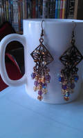 earrings: bombaystic by Margotka