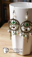 earrings: Steampuncute by Margotka