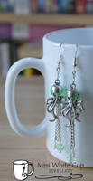 earrings: octopussy's garden by Margotka