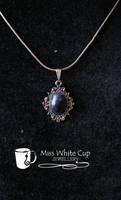 lapis lazuli retro pendant by Margotka