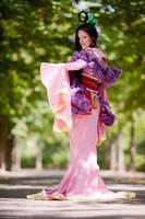 Sakuya - Okami - Summertime by SweetLuminia