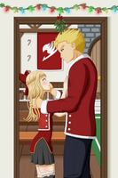 [Gift] Una and Laxus Holiday by Nasby321