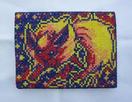 Flareon Cross Stitch by silverdragoness