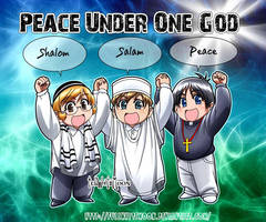 Peace Under One God by FullWhiteMoon