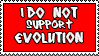 Stamp 27 - I don't support Evo by FullWhiteMoon