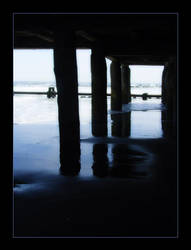 Under the Pier by OceanStorme