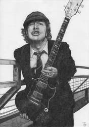 Angus Young by Skippy-s