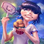 Noodle eats noodle :) #DAW8 by PeterKmiecik