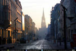 City street at dawn exterior #00023  CC Free Stock by PeterKmiecik