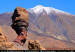Volcano Rocks Red Mountains Snow CC Free Stock by PeterKmiecik