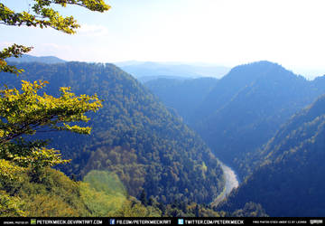 Free Stock River Muntains Trees Valley Landscape by PeterKmiecik