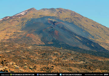 Free Stock Volcano Eruption Mountain Rocks Magma by PeterKmiecik