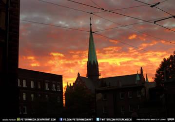Free Stock Burning Sky Apocalypse Doom Clouds Sun by PeterKmiecik