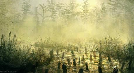 Swamp #speedpaint #throwback by PeterKmiecik