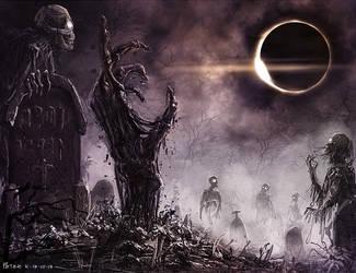 Eclipse #speedpainting by PeterKmiecik
