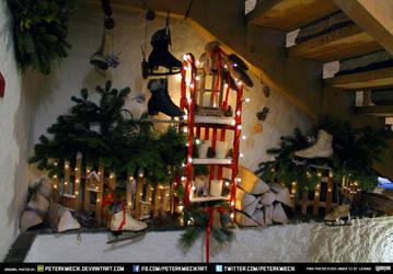 Free Stock Christmas Tree Decoration Lights Saktes by PeterKmiecik