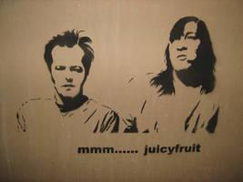 cuckoo for juicyfruit by wreckedangle