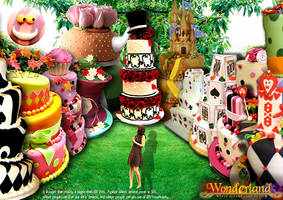 Print Ad 4 for Wonderland by liagiannjezreel