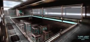 Warehouse concept art by LindaLagzdina