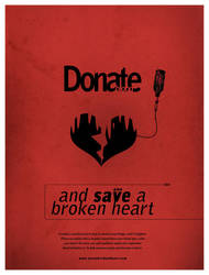 Donate blood and save a heart by ch4os532