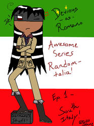 Devious as Romano by MsEmerald7