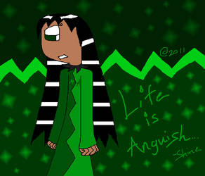 Life is Anguish by MsEmerald7