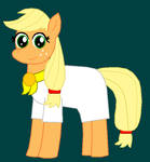 CSMM: Applejack as Cremia by Eli-J-Brony
