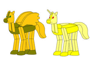 Gamer Pegasus and Gamer Unicorn Standard Mod by Eli-J-Brony